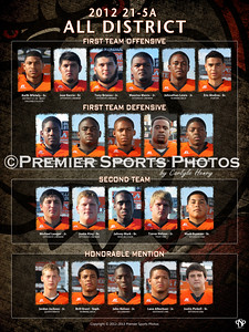 2012 La Porte Football - All District