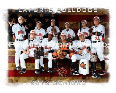 2012 La Porte High School Baseball Seniors