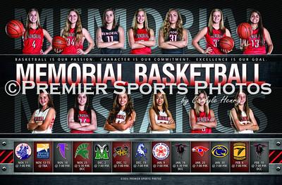 2014-15 Houston Memorial Girls Varsity Basketball Schedule