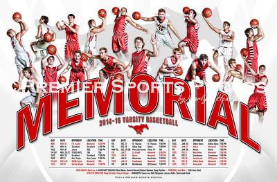 2014-15 Houston Memorial Boys Varsity Basketball Schedule
