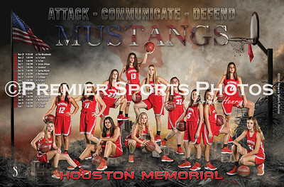 2018 - Memorial Girls Basketball