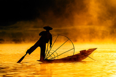 Fisherman at Inle Lake 2
