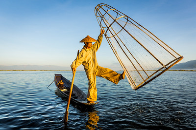 Fisherman at Inle Lake 1