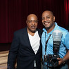 With the great singer Peabo Bryson!