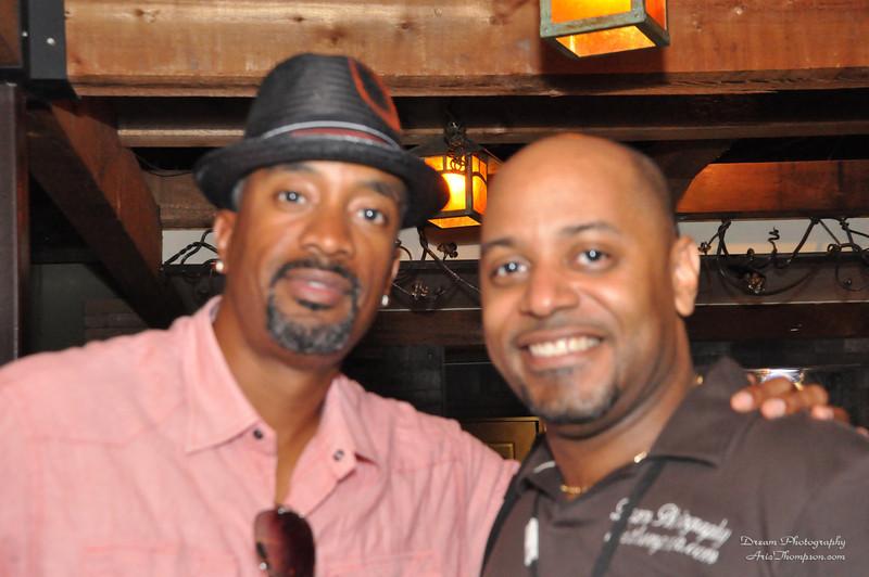 with singer Winston Warrior