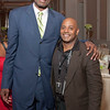 With NBA great and true humanitarian, Dikembe Mutombo at his caring for Congo Gala