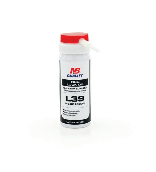 70081  NBQ Lock oil 50ml L39 - sulatav lukuõli