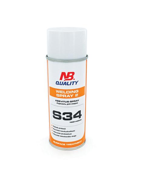 Welding Spray 2 400ml S34 - keevitusspray:(7002699)