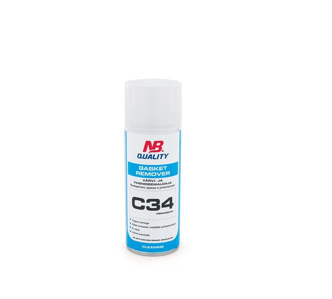Gasket Remover 400ml C34 - värvi- ja tihendieemaldaja:7008299