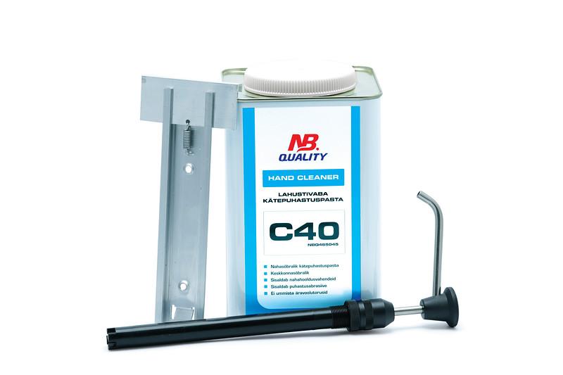 Hand Cleaner 4,5L C40 - lahustivaba kätepuhastuspasta:7003499