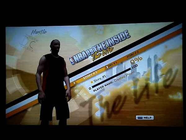 PS3 NBA 09 Story Mode Flow