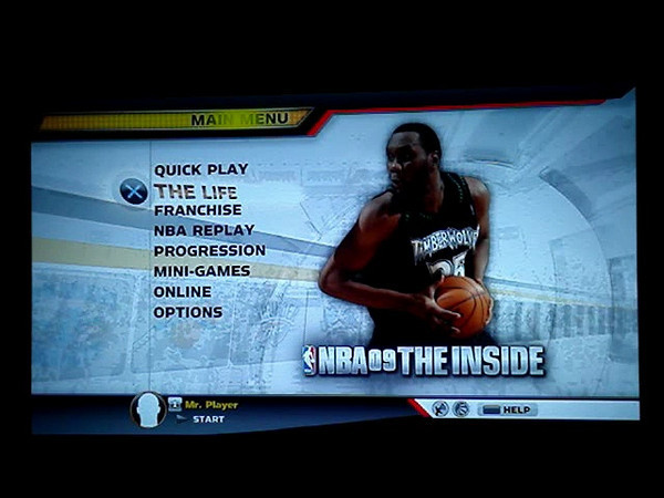 PS3 NBA 09 The Inside