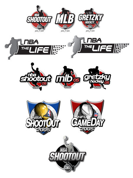 Various game identity examples for 05 and 06.
