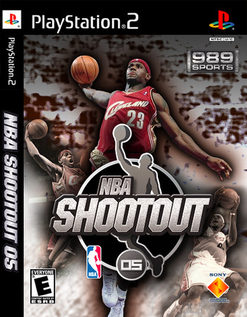 Package concept for NBA Shootout 05