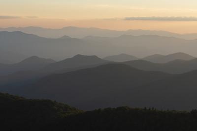 """Cowee Mountain Overlook"""
