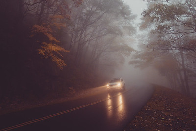 """Driving In The Fog"""