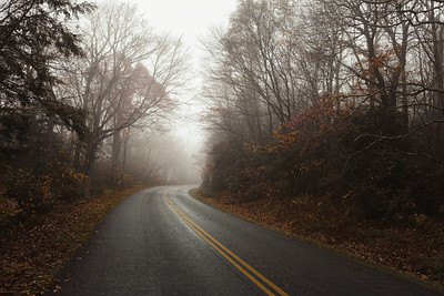 """""""Late Fall On The Parkway"""""""