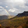 """Whiteside Mountain Rainbow"""