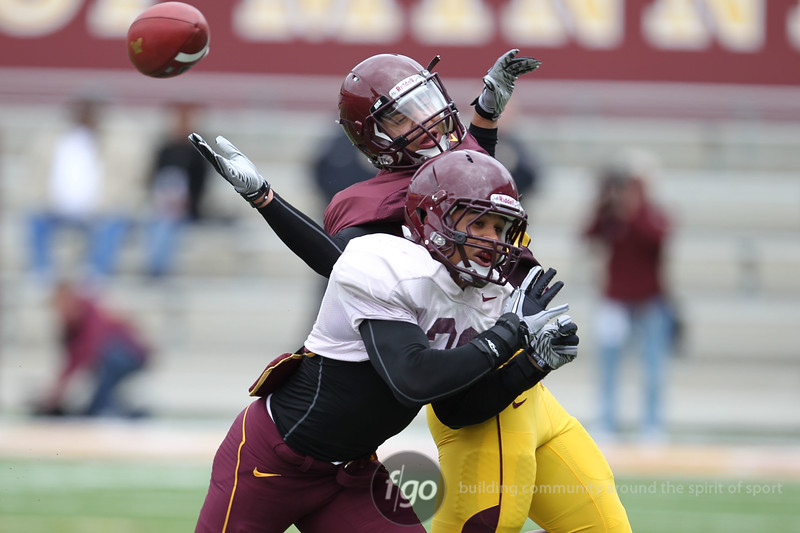 University of Minnesota Spring Football Game - Apr 23, 2011