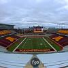 University of Minnesota Gopher (pos) (name) number)does what at the University of Minnesota inter-squad Spring game  at the TCF Stadium in Minneapolis, MN.  (score).
