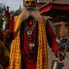HOLY MAN. DURBAR SQUARE. KATHMANDU.