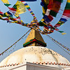 KATHMANDU. BODHNATH STUPA. AN UNESCO WORLD HERITAGE SITE. NEPAL.