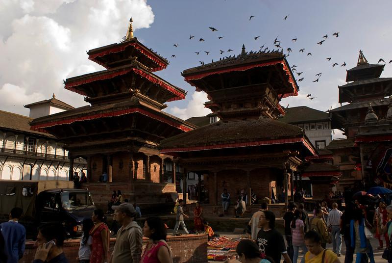 DURBAR SQUARE. KATHMANDU. NEPAL.