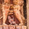 BHAKTAPUR. DURBAR SQUARE. PASHUPATINATH TEMPLE/ YAKSHESWOR MAHADEV TEMPLE. ROOF STRUTS DEPICT KAMA SUTRA SEX POSITIONS/ EROTIC ART.