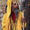 KATHMANDU. BABA (SADHU - HOLY MAN) DURBAR SQUARE. NEPAL. [5]