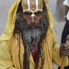 KATHMANDU. BABA (SADHU - HOLY MAN) DURBAR SQUARE. NEPAL. [4]