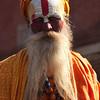 HOLY MAN. PASHUPATINATH. KATHMANDU. NEPAL.