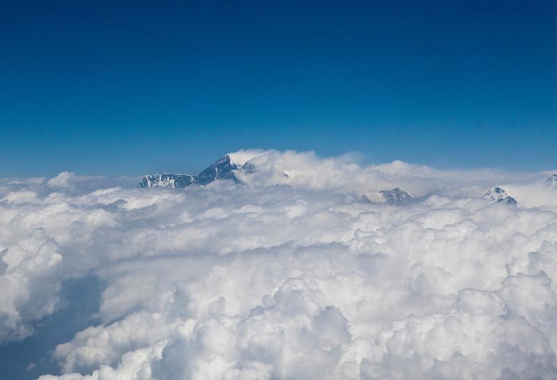 DRUK AIR FLIGHT KATHMANDU TO PARO ALONG THE HIMALAYAS. [2]