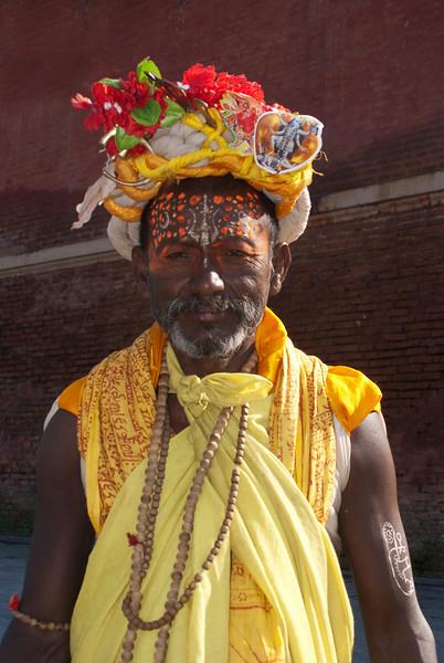 HOLY MAN. PASHUPATINATH. KATHMANDU. NEPAL. [2]