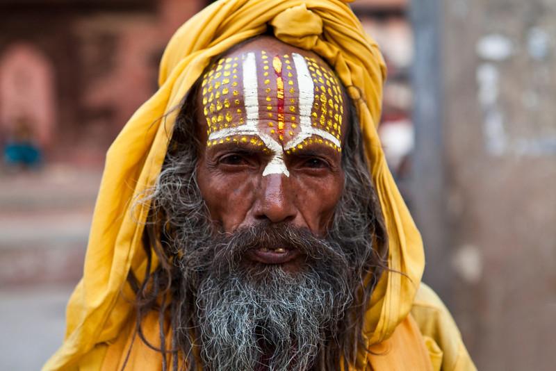 KATHMANDU. BABA (SADHU - HOLY MAN) DURBAR SQUARE. NEPAL [1]