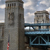 IMG#0602<br /> Ben Franklin Bridge as seen from Campbell Field-Camden New Jersey