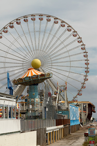 Amusements on the boardwalk...Wildwood New Jersey-Aug 23, 2015