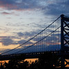 IMG#0730<br /> Ben Franklin Bridge at Sunset