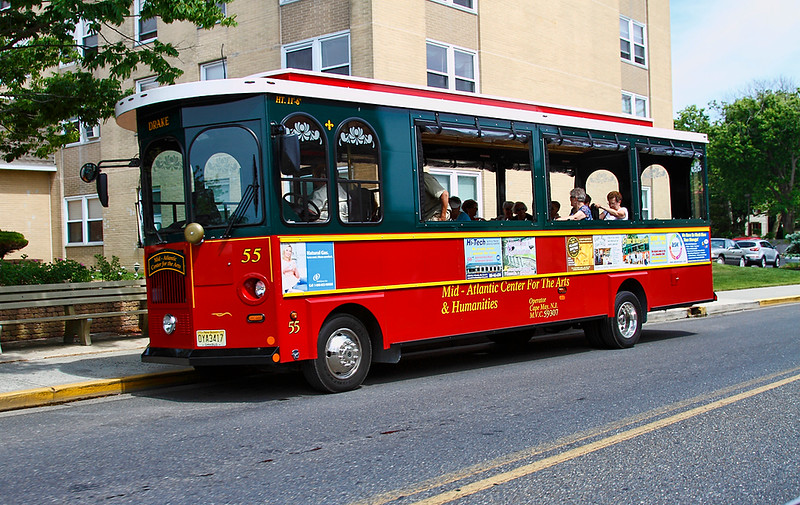 "The ""Arts"" Trolley...Cape May, New Jersey."