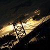 IMG#689<br /> Ben Franklin Bridge Silhouette