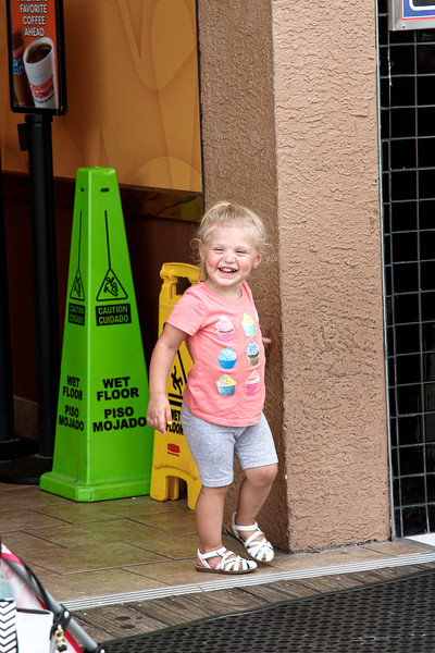 Happy is the child who gets to visit the boardwalk in Wildwood-Aug 23, 2015