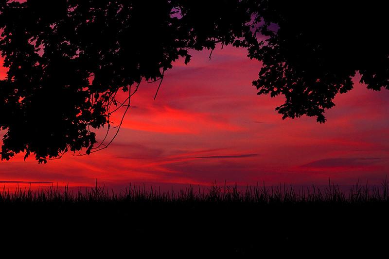<center>IMG#1892 Deerfield, NJ...20012 Country sunset.<center>