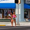 "Young vacationers in their Summer  ""attire""...Cape May, New Jeraey"