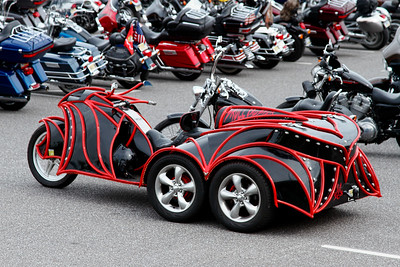 Unusual custom designed motorcycles-Sept 2015