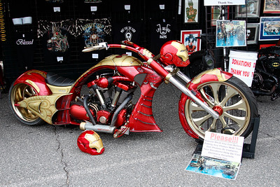 "Extreme ""Iron Man"" custom paint-Sept 2015"