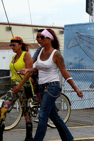 Colorful Biker Babes-Sept 2015