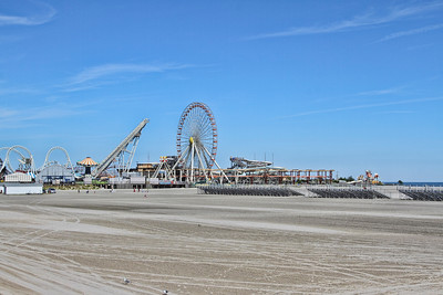 Amusements on the Wildwood, New Jesey boardwalk...Sept 7, 2013