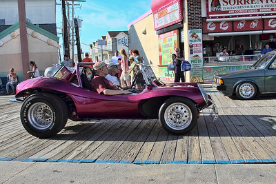 Toyota car parade...Wildwood, New Jersey boardwalk,-Sept 07, 2013.