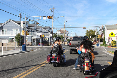 Through the streets of Wildwood New Jersey...Bike Rally Sept 07, 2013.