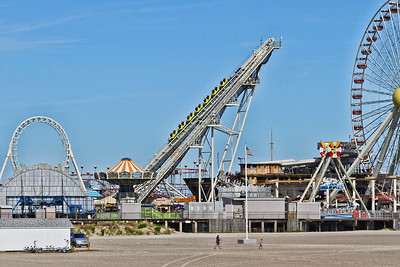 Amusements on the Wildwood, New Jesey boardwalk..Sept 7, 2013.