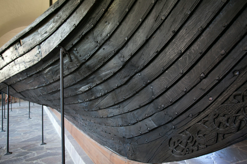 GOKSTAD VIKING SHIP. VIKING SHIP MUSEUM (VIKINGSKIPHUSET). OSLO. [3]